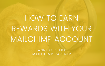 How to earn rewards with your MailChimp account