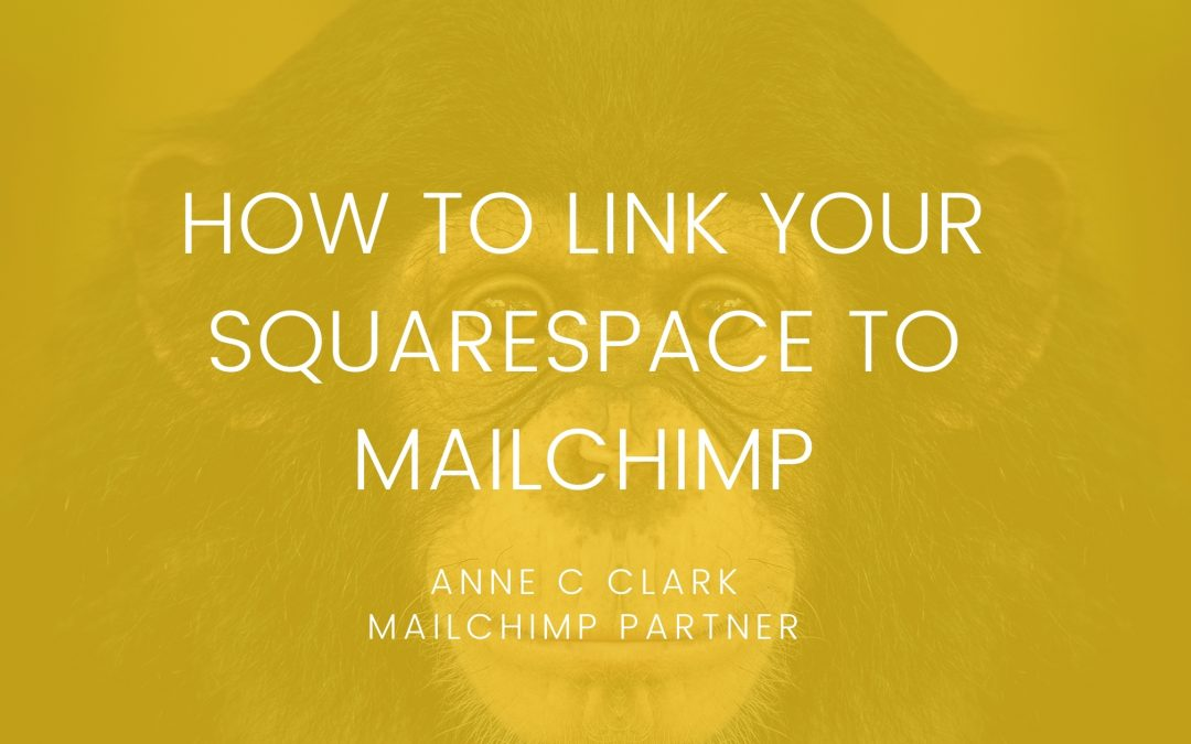 How to link your Squarespace to Mailchimp