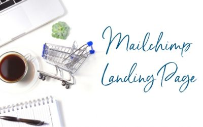 How to create a landing page in Mailchimp